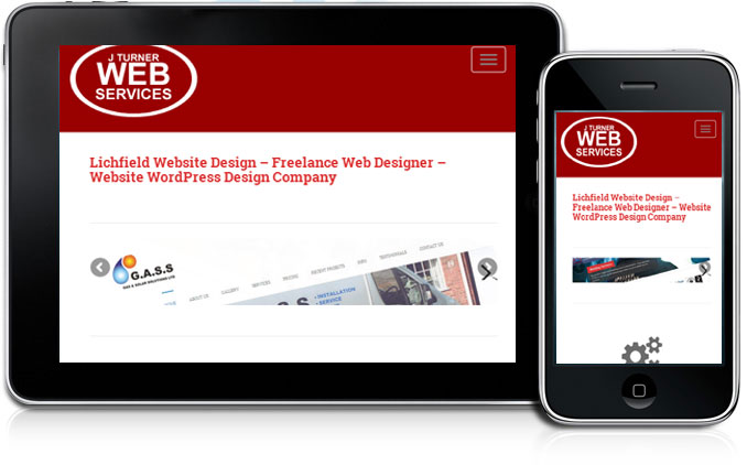 Mobile Website Design Lichfield