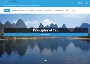 TAO Financial Lichfield Website Design