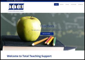 TTS Lichfield Website Design